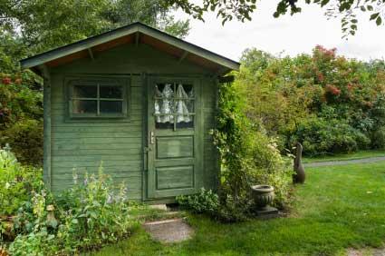 Gartenhäuser – Schmuckstücke für den eigenen Garten   Natures